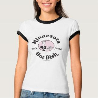 Camiseta T quente retro do prato de Minnesota