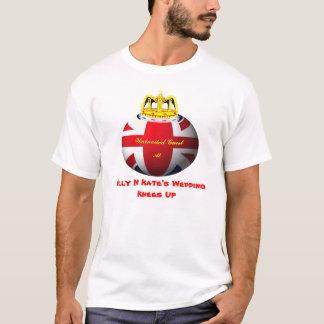 Camiseta T real da piada do casamento