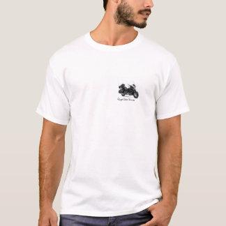Camiseta T real do risco da estrela