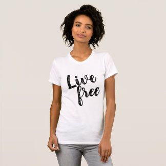 Camiseta T Relaxed livre vivo