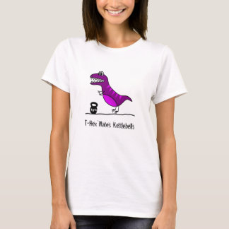 Camiseta T-Rex deia kettlebells