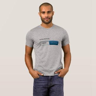 Camiseta T ridículo do modo