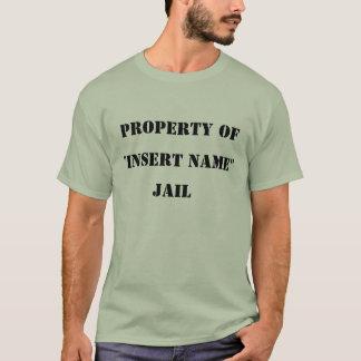Camiseta T roubado da cadeia