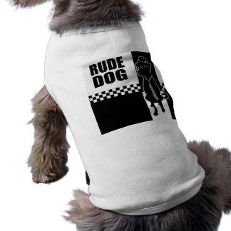 Camiseta T rude do cachorrinho do cão