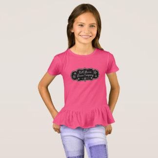 Camiseta T Ruffled de K&C Marie Dança Empresa