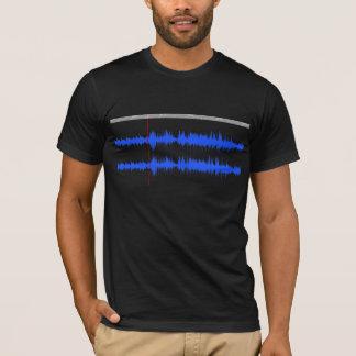 Camiseta T sadio da impressão