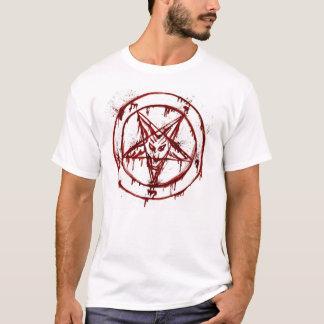 Camiseta T satânico