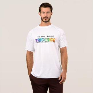 Camiseta T seco da malha do dobro do campeão de PRIDESIDE®