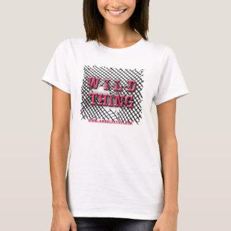 "Camiseta ""T SELVAGEM da coisa SELVAGEM"" dos meninos"