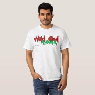 Camiseta T selvagem dos homens de Alaska do pássaro