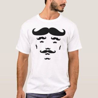 Camiseta T-shirt 100% do bigode