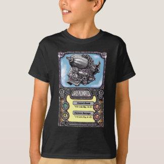 Camiseta T-shirt 15 dos batalhões do vapor - cartão de