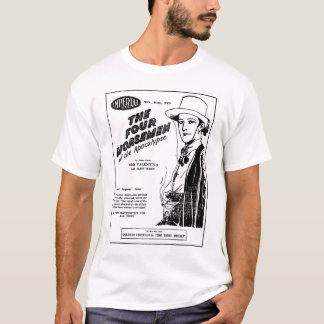 Camiseta T-shirt 1927 do anúncio do filme do vintage de