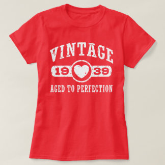 Camiseta T-shirt 1939 do vintage