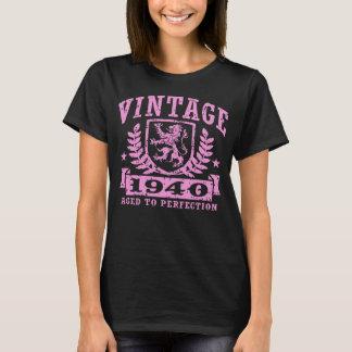 Camiseta T-shirt 1940 do vintage
