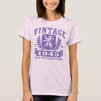 Camiseta T-shirt 1945 do vintage