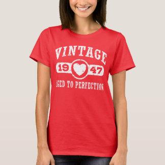 Camiseta T-shirt 1947 do vintage
