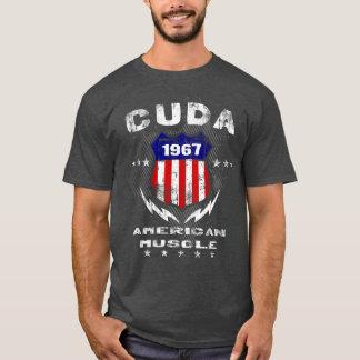 Camiseta T-shirt 1967 americano do músculo de Cuda