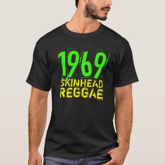 Camiseta T-shirt 1969 da REGGAE do SKINHEAD