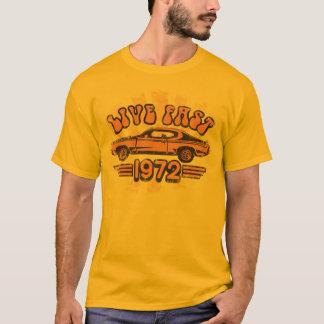 Camiseta T-shirt 1972 do gráfico de Buick GS