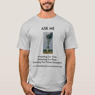 Camiseta T-shirt #1 do relógio da comunidade de Helderberg