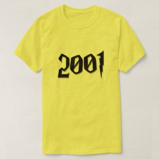 Camiseta T-shirt 2001 da fantasia