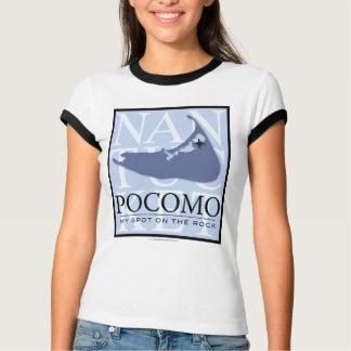 Camiseta T-shirt 2007 de Pocomo (sobre parte traseira