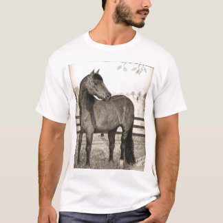 Camiseta T-shirt 2007 do cavalo de Morgan