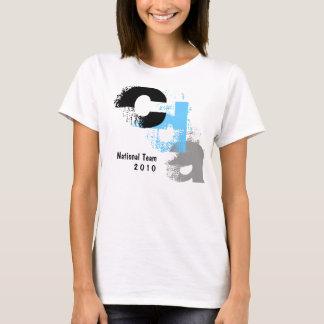 Camiseta T-shirt 2010 da equipa nacional de CDA