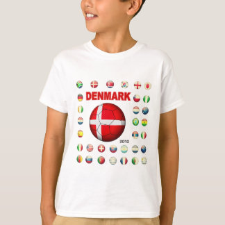 Camiseta T-shirt 2010 de Dinamarca d7