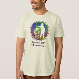 Camiseta T-shirt 2010 do Dia da Terra