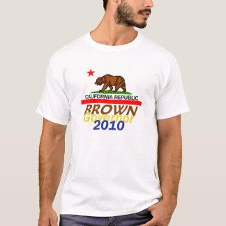 Camiseta T-shirt 2010 do MARROM de Jerry