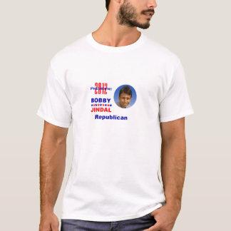 Camiseta T-shirt 2012 do republicano de JINDAL Preident