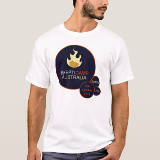 Camiseta T-shirt 2013 de Skepticamp Sydney