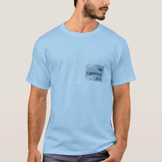 Camiseta T-shirt 2014 dos relâmpagos da vela