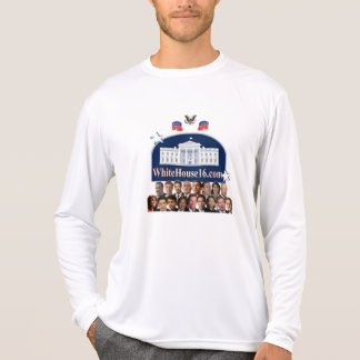 Camiseta T-shirt 2016 branco de Longsleeve da casa
