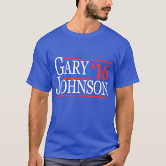 Camiseta T-shirt 2016 de Gary Johnson