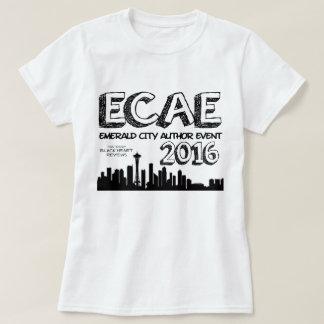 Camiseta T-shirt 2016 esmeralda oficial do evento do autor