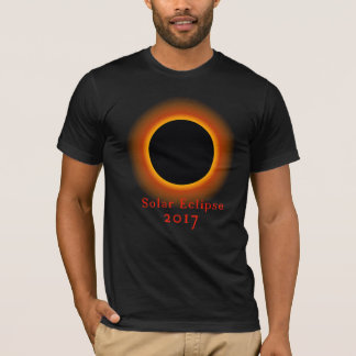 Camiseta T-shirt 2017 total do eclipse solar