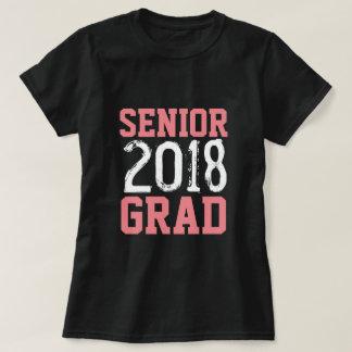 Camiseta T-shirt 2018 superior do jérsei do formando
