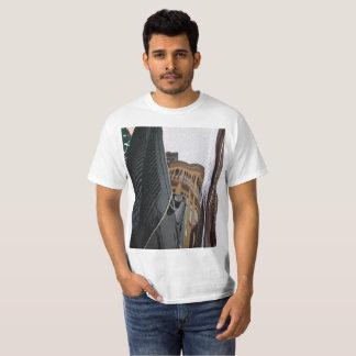 Camiseta T-shirt 2 da reflexão dos homens