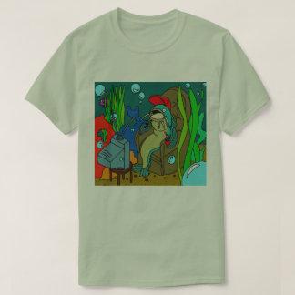 Camiseta T-shirt 2 do fim de semana do peixe-gato