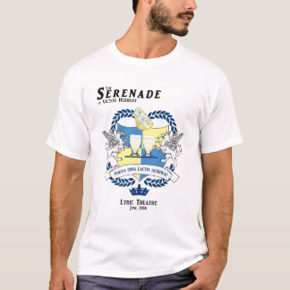 Camiseta T-shirt #2 do molde do Serenade