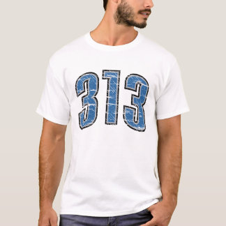 Camiseta (t-shirt 313 do código de área)