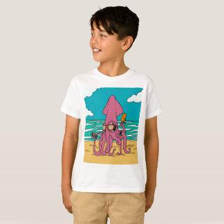 Camiseta T-shirt 3 do calamar de Bro