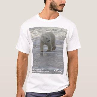 Camiseta T-shirt 3 do urso polar (design da parte dianteira