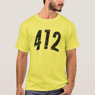 Camiseta (t-shirt 412 do código de área)