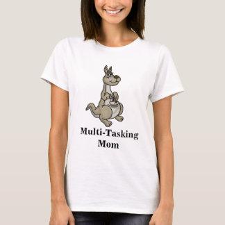 Camiseta T-shirt a multitarefas do canguru da mamã