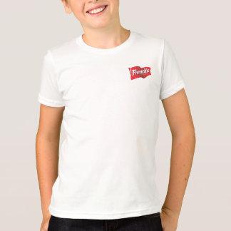 Camiseta T-shirt - a parte dianteira do francês; HSH