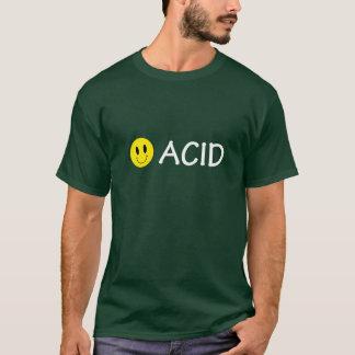 Camiseta T-shirt ácido do smiley de Techno